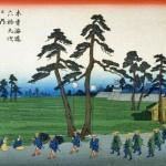 江戸の旅 見栄を張った大名行列