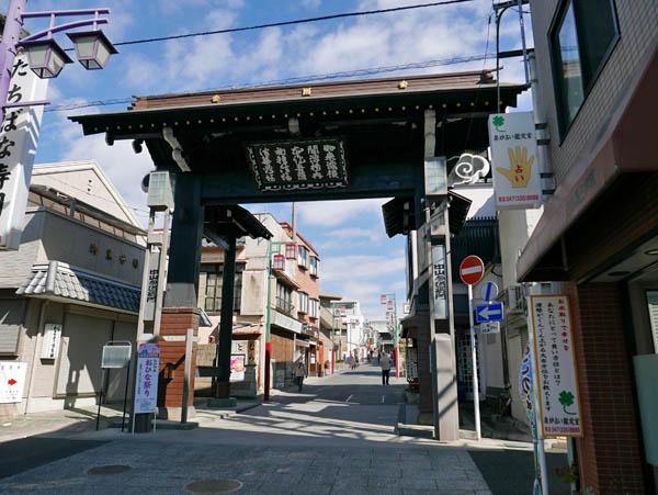 中山法華経寺黒門