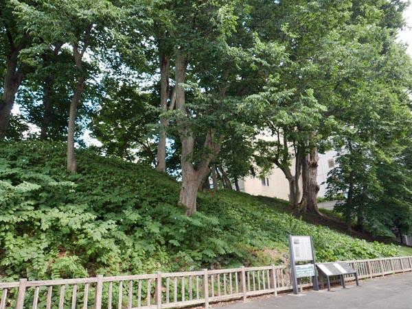 山形城三の丸土塁