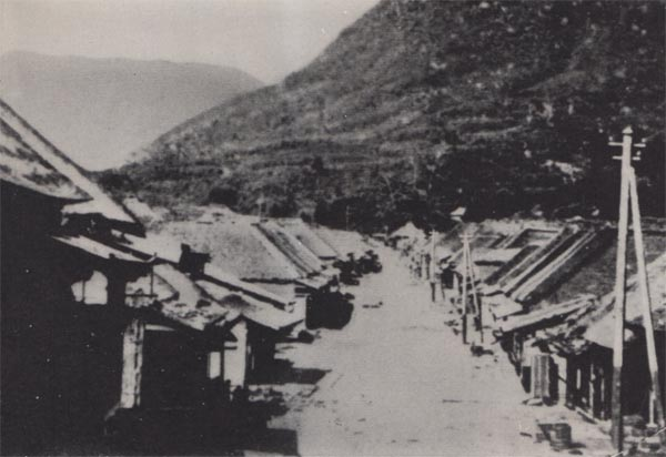 小田原宿風景
