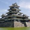 国宝 松本城から槍ヶ岳を望む 松本市(長野県)