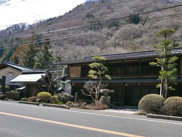 桜沢茶屋本陣跡