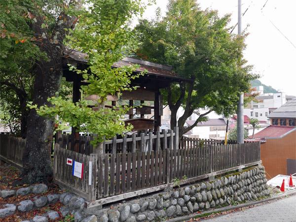 福島宿高札場