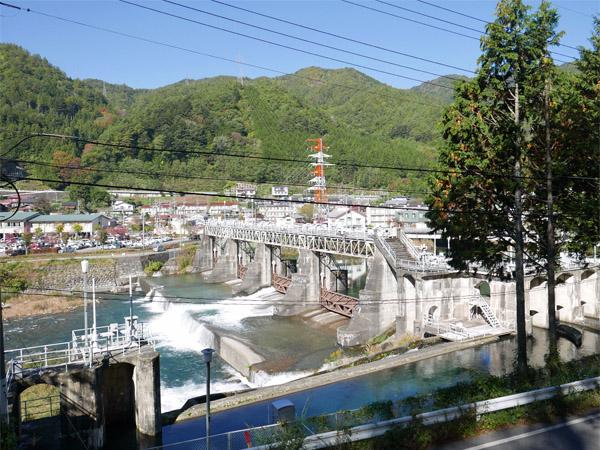 木曽川取水ダム