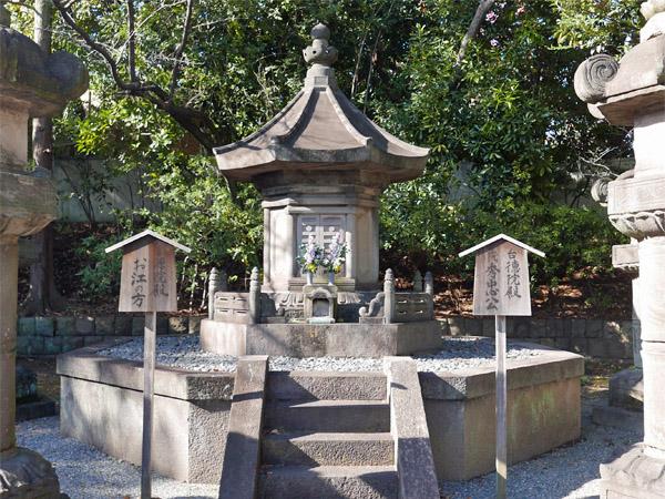徳川秀忠墓所