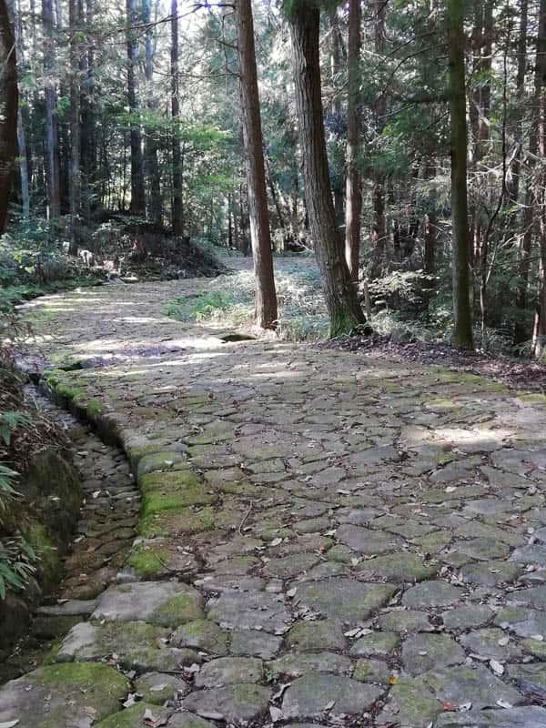 落合の石畳