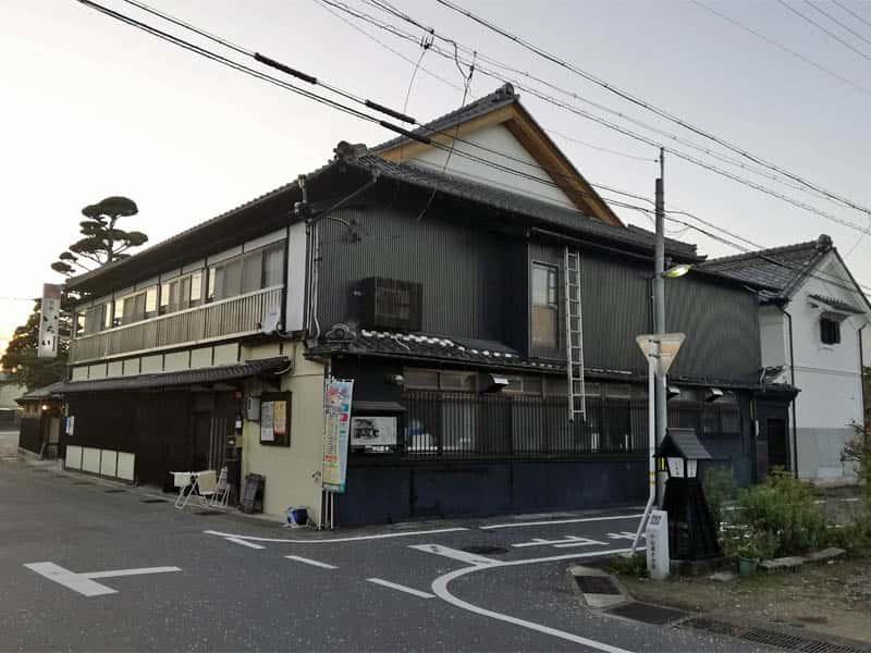 大井宿枡形3