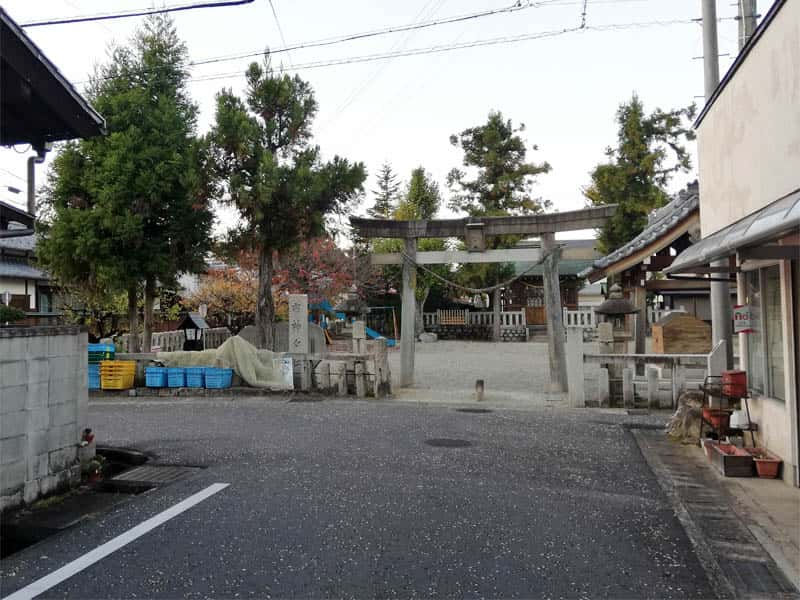 大井宿枡形4