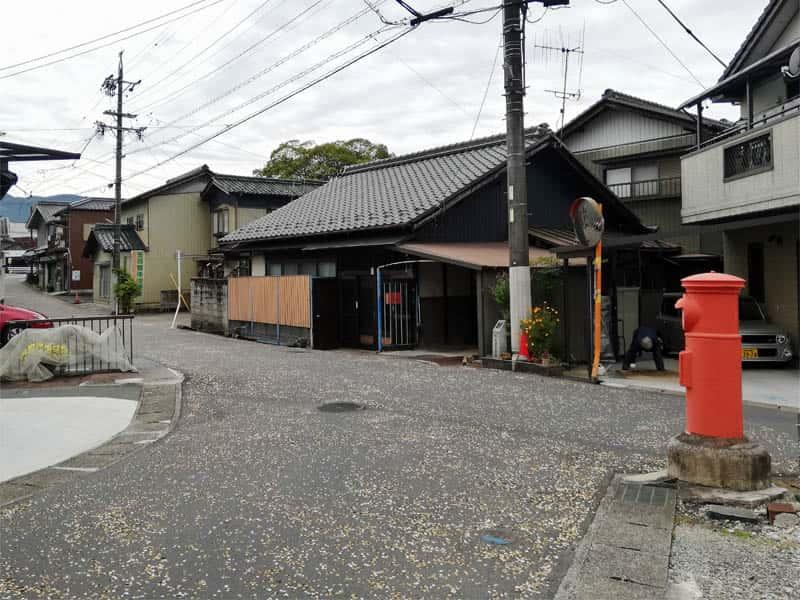 大井宿枡形5