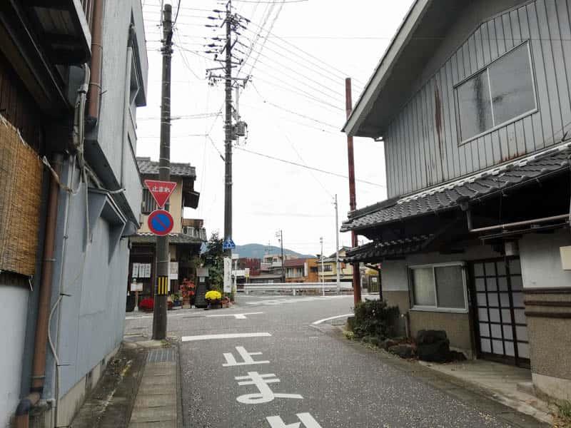 大井宿枡形6