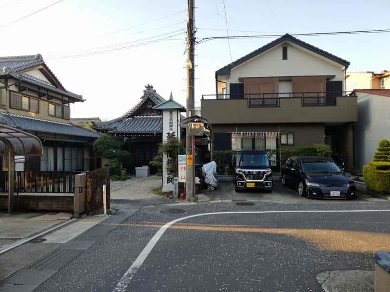 大井宿枡形1